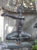 Centro de serviço de Wat Pho Thai Massage School foto de stock