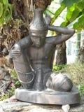 Centro de serviço de Wat Pho Thai Massage School imagens de stock royalty free