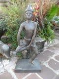 Centro de serviço de Wat Pho Thai Massage School fotografia de stock royalty free