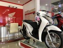 Centro de servicio de Honda en Buon mA Thuot, Vietnam Imágenes de archivo libres de regalías