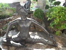 Centro de servicio de Wat Pho Thai Massage School foto de archivo
