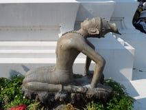 Centro de servicio de Wat Pho Thai Massage School imágenes de archivo libres de regalías