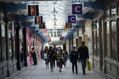 Centro de Shoping en Skipton Foto de archivo libre de regalías