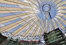 Centro de Sony, Berlín imagenes de archivo