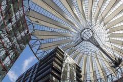 Centro de Sony, Berlim Fotos de Stock Royalty Free