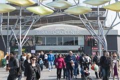 Centro de Stratford en Londres Fotografía de archivo