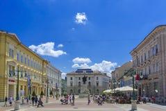 Centro de Szeged Foto de archivo libre de regalías