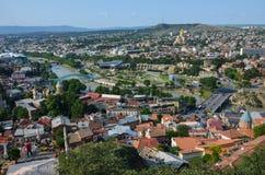 Centro de Tbilisi Imagen de archivo