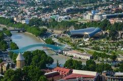 Centro de Tbilisi Imagen de archivo libre de regalías