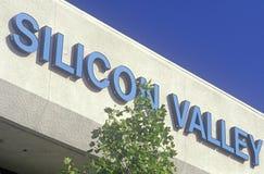 Centro de tecnologia de Silicon Valley em San Jose, Califórnia imagem de stock