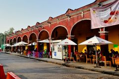 Centro de Tlalpan Fotografía de archivo libre de regalías