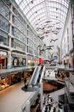 Centro de Toronto Eaton Imagenes de archivo