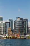 Centro de Toronto Habourfront Imagen de archivo libre de regalías