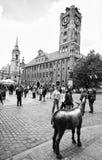Centro de Torun, Polonia Fotos de archivo