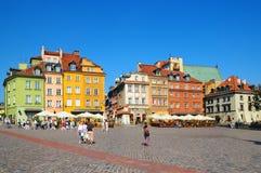 Centro de Varsóvia, Poland fotografia de stock royalty free