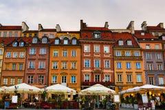 Centro de Varsovia Fotos de archivo libres de regalías