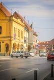 Centro de Vinkovci Fotos de archivo libres de regalías