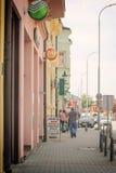Centro de Vinkovci Fotografía de archivo libre de regalías