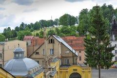 Centro de Wambierzyce Fotos de archivo libres de regalías