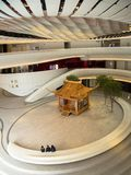 Centro de Westkowloon XiQu em Hong Kong imagem de stock royalty free