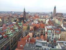 Centro de Wroclaw Imagenes de archivo