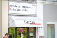 Centro del bienestar de Caritas Imágenes de archivo libres de regalías