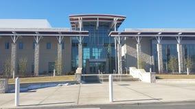 Centro del campus Foto de archivo libre de regalías