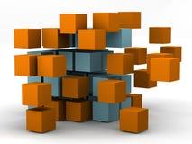 Centro del caos Imágenes de archivo libres de regalías