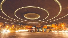 Centro del cerchio di Indianapolis stock footage