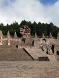 Centro del ceremonial de Otomi Foto de archivo