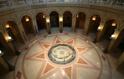 Centro del edificio del capitolio de San Pablo Imagenes de archivo