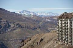 Centro del esquí de Chile Fotos de archivo