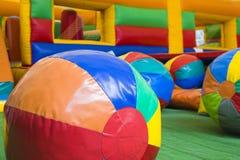 Centro del gioco di bambini Fotografie Stock