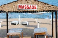 Centro del masaje Fotografía de archivo libre de regalías