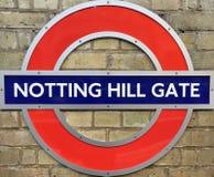 Centro del metro de la estación de Londres Imágenes de archivo libres de regalías