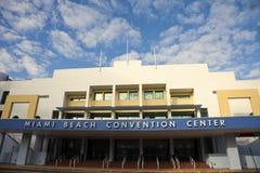 Centro del Miami Beach Covention Immagini Stock Libere da Diritti