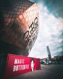 Centro del milenio de País de Gales fotos de archivo libres de regalías