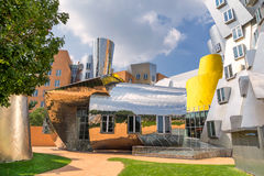 Centro del MIT Stata en Boston foto de archivo