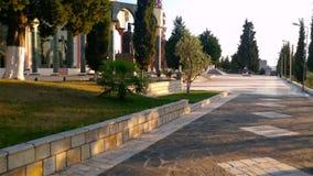Centro del mondo di Bektashi a Tirana stock footage