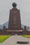 Centro del mondo, Mitad del Mundo, Sudamerica Fotografie Stock