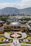 Centro del mondo, Mitad del Mundo, Sudamerica Immagine Stock Libera da Diritti