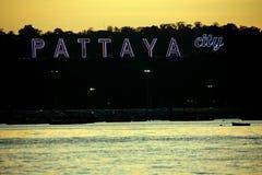 Centro del mondo, Pattaya, Tailandia di turismo del sesso immagine stock libera da diritti