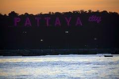 Centro del mondo, Pattaya, Tailandia di turismo del sesso fotografia stock libera da diritti