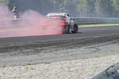 Centro del motor de Rudskogen (festival del coche de carreras) Fotografía de archivo