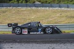 Centro del motor de Rudskogen (festival del coche de carreras) Imagen de archivo