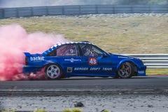 Centro del motor de Rudskogen (festival del coche de carreras) Foto de archivo libre de regalías
