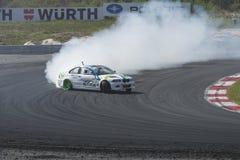 Centro del motor de Rudskogen (festival del coche de carreras) Foto de archivo