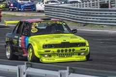 Centro del motor de Rudskogen (festival del coche de carreras) Fotos de archivo