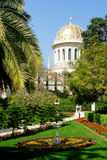 Centro del mundo de Bahai en Haifa Imagen de archivo libre de regalías