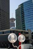 Centro del porto di Vancouver Fotografie Stock Libere da Diritti